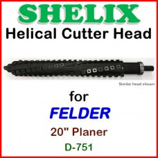 SHELIX for FELDER 20'' Planer, D-751