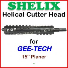 SHELIX for GEE-TECH 15'' Planer