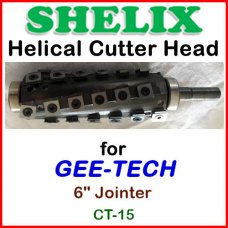 SHELIX for GEE-TECH 6'' Jointer, CT-15