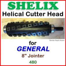 SHELIX for GENERAL 8'' Jointer, 480