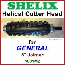 SHELIX for GENERAL 8'' Jointer, 4801MZ