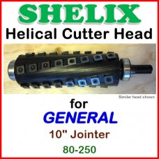 SHELIX for GENERAL 10'' Jointer, 80-250