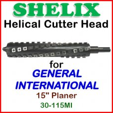 SHELIX for GENERAL INTERNATIONAL 15'' Planer, 30-115MI