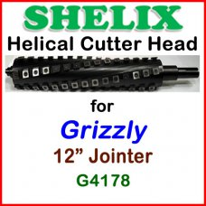 SHELIX for GRIZZLY 12'' Jointer, G4178
