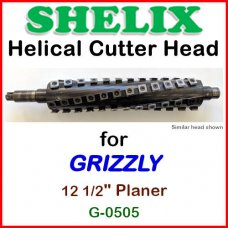 SHELIX for GRIZZLY 12 1/2'' Planer, G-0505