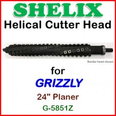 SHELIX for GRIZZLY 24'' Planer, G-5851Z