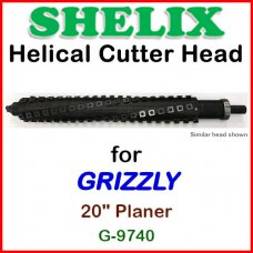 SHELIX for GRIZZLY 20'' Planer, G-9740
