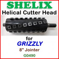 SHELIX for GRIZZLY 8'' Jointer, G0490