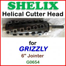 SHELIX for GRIZZLY 6'' Jointer, G0654