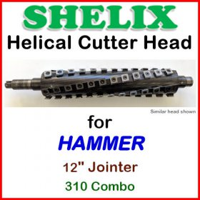 SHELIX for HAMMER 12'' Jointer, 310 COMBO