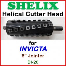 SHELIX for INVICTA 8'' Jointer, DI-20