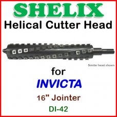 SHELIX for INVICTA 16'' Jointer, DI-42
