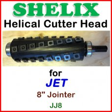 SHELIX for JET 8'' Jointer, JJ8