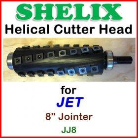 SHELIX for JET 8'' Jointer, JJ-8