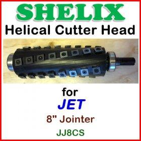 SHELIX for JET 8'' Jointer, JJ8CS