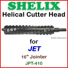 SHELIX for JET 16'' Jointer, JPT-410