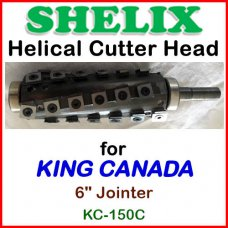 SHELIX for KING CANADA 6'' Jointer, KC-150
