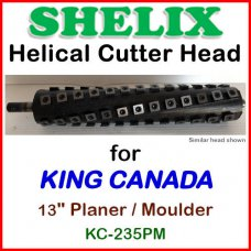 SHELIX for KING CANADA 13'' Planer, KC-235PM (Planer-Moulder)