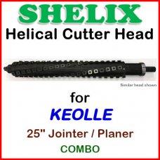 SHELIX for KOELLE 25'' Planer, Planer-Jointer Combo