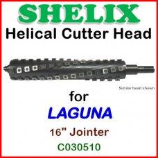 SHELIX for LAGUNA 16'' Jointer, C030510