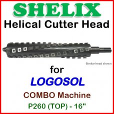 SHELIX for LOGOSOL 16'' Jointer, P260 COMBO (TOP)
