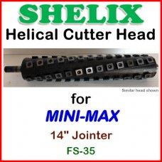 SHELIX for MINI-MAX 14'' Jointer, FS-35