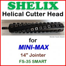 SHELIX for MINI-MAX 14'' Jointer, FS-35 SMART