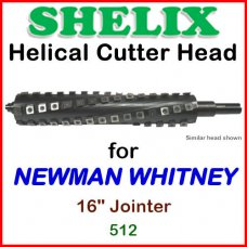 SHELIX for NEWMAN WHITNEY 16'' Planer, 512