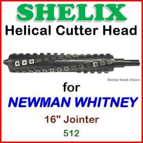 SHELIX for NEWMAN WHITNEY 16'' Planer, 512