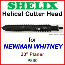 SHELIX for NEWMAN WHITNEY 30'' Planer, P830