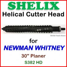 SHELIX for NEWMAN WHITNEY 30'' Planer, S382 HD