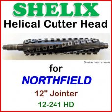 SHELIX for NORTHFIELD 12'' Jointer, 12-241HD