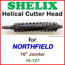 SHELIX for NORTHFIELD 16'' Jointer, 16-127