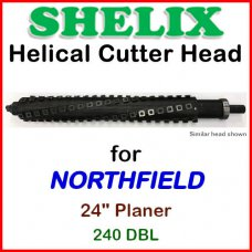 SHELIX for NORTHFIELD 24'' Planer, 240 DBL