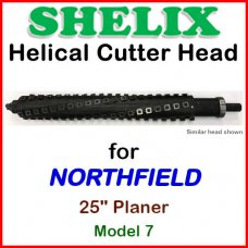 SHELIX for NORTHFIELD 24'' Planer, Model 7