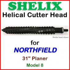 SHELIX for NORTHFIELD 31'' Planer, Model 8