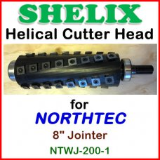 SHELIX for NORTHTECH 8'' Jointer, NTWJ 200-1