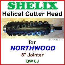 SHELIX for NORTHWOOD 8'' Jointer, BW 8J