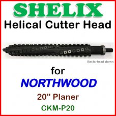 SHELIX for NORTHWOOD 20'' Planer, CKM-P20