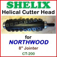 SHELIX for NORTHWOOD 8'' Jointer, CT-200