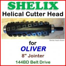 SHELIX for OLIVER 8'' Jointer, 144BD Belt Drive