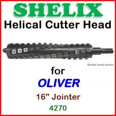 SHELIX for OLIVER 16'' Jointer, 4270