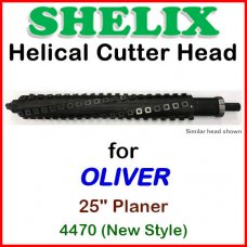 SHELIX for OLIVER 25'' Planer, 4470 (NEW STYLE)