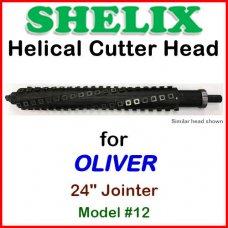 SHELIX for OLIVER 24'' Jointer, Model #12