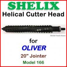 SHELIX for OLIVER 20'' Jointer, Model 166