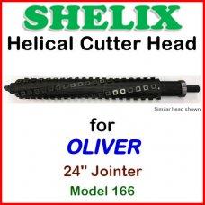 SHELIX for OLIVER 24'' Jointer, Model 166