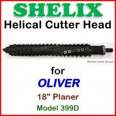 SHELIX for OLIVER 18'' Planer, Model 399D