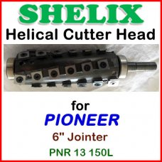 SHELIX for PIONEER 6'' Jointer, PNR 13 150L