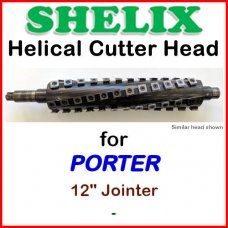 SHELIX for PORTER 12'' Jointer