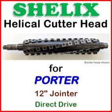SHELIX for PORTER 12'' Jointer, Direct Drive